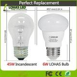 45W LED gleichwertige (6W) LED Glühlampe des Wolken-Art-Tageslicht-(5000K) E26 LED für Hauptbeleuchtung