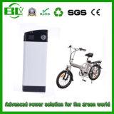 paquete de la batería de la bici de los pescados de plata E del paquete 24V 15ah de la batería del Li-ion
