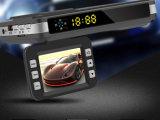 HD 2 en 1 Perro electrónico grabadora de conducir el tráfico móvil