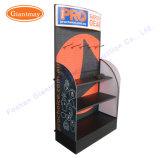 Stand personnalisé de machines-outils d'étalage de position d'étage de Pegboard de supermarché de commerce de détail en métal