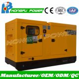 50Hz Standby 28kVA Electric Trailer card Generator Set with Cummins Engine