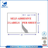 Impresión personalizada de papel A4 Etiqueta de envío