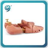 El encargado de la dimensión de una variable de los zapatos de cuero de madera hace el árbol grande del zapato