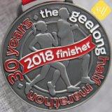 Exécutant Marathon personnalisé Sports Football Baseball Soccor or Médaille Champion