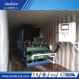 Poupança de Energia de fábrica 1t Bloco Conteinerizado comercial de máquina de gelo