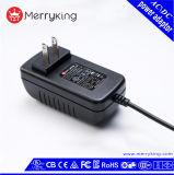 adaptador de la CA del enchufe 15V 2A de 110V 120V los E.E.U.U. con la certificación de la FCC del Ce de la UL