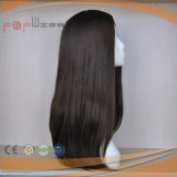 Парик естественных человеческих волос цвета длинних Silk верхний (PPG-l-0527)
