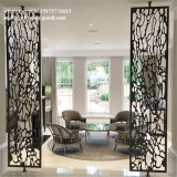 Antique Carved screen partition Metal Stainless Steel panel for Home Decor