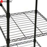 Revêtement époxy noir moderne Vêtements Vêtement rack métallique réglable