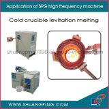 máquina de aquecimento de alta freqüência 100kw da indução 30-80kHz Spg50K-100b