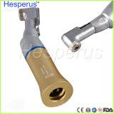 Stile di NSK Contra l'angolo Handpiece a bassa velocità basso dentale Hesperus dorato