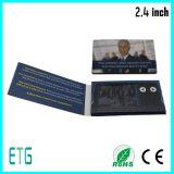 """2, """" VideoAdreskaartje 4/2.8 met LCD het Scherm voor Reclame"""