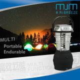 36LED multifonction Superbright Camping avec la lumière solaire/DC/manivelle de la lanterne de Camping