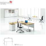 Modular Office Furniture 4 person workstation with Metal put