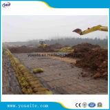 HDPE Unixial Geogrid 90KN per il muro di sostegno