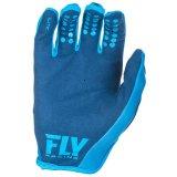 Fly Racing Lite водорода Mx грязь на велосипеде перчатки синего цвета