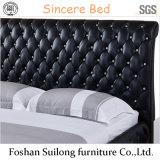 Современном американском стиле кожаные кровати кровати с одной спальней 1101