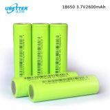 Batería de litio recargable 18650 3.7V 2600mAh para juguetes eléctricos