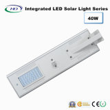 40W LED intégrée Rue lumière solaire avec capteur PIR