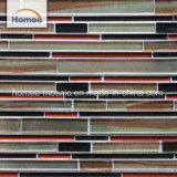 Foshan especial diseño mejor venta Backsplash Espesor de la decoración de mosaico de vidrio