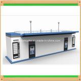 Posto de gasolina da gasolina do recipiente 20feet e posto de gasolina do diesel do recipiente 40feet