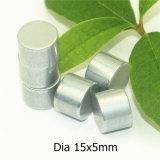 Alimentation permanente de haute qualité Rare Earth aimant 15x5mm de diamètre
