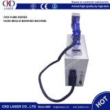 Máquina portable de la marca del laser de la fibra del metal de Handly de la alta calidad para la marca móvil material grande