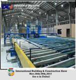 O teto superior da placa de gipsita do tipo telha a linha de produção do equipamento