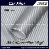 3D Filme de fibra de carbono de folha de Vinil Adesivo de aluguer de carro a película de vinil