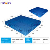Fabricante de China da pálete plástica do tamanho grande para o supermercado 1100*1100*150 da fábrica (milímetros)
