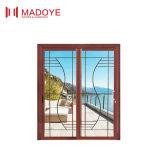 호주 기준 최신 디자인 은 알루미늄 프레임 미닫이 문