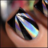 Poudre de miroir Rainbow Glitter argent Laser Holo holographique de pigments Chrome