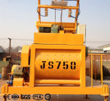 Js750 de TweelingMixer van het Cement van de Schacht