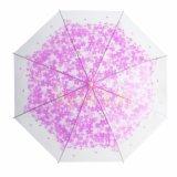 شفّافة مستقيمة [بو] مظلة بالجملة