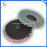 Outils de polissage Outils Abrasifs roue volet pour le métal