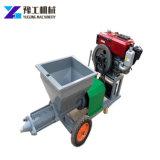 Electric de mortier de ciment pour les murs de la machine de pulvérisation