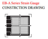 Calibradores de tensión dobles de las redes del eje cuatro para el análisis de tensión Bf350-Eb