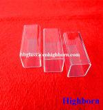 Hoher Reinheitsgrad-Quadrat-Quarz-Glasgefäß