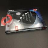 명확한 Foldable 마분지 전자 부속품은 로고를 가진 선물 포장 상자를 놓았다