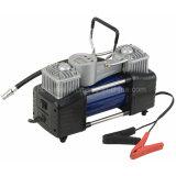 Auto-Luftverdichter/Gummireifen-Luftpumpe mit doppeltem Zylinder mit Digital-Anzeigeinstrument-Modell HD-506