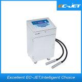 Lot de Duel-Tête codant l'imprimante à jet d'encre continue pour l'impression de billets (EC-JET910)
