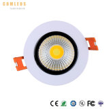 9W de alta calidad 12W 18W 20W 33W Downlight panel LED