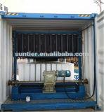 25T/24h plaque en aluminium blocs de glace les machines avec un réfrigérateur pour les Maldives Île pour la vente