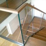 Het Glas van de Balustrade van het Traliewerk van het Balkon van het Aluminium van het Kanaal van U van het Traliewerk van de omheining