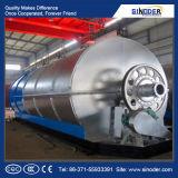 Olio usato del pneumatico alla distilleria diesel