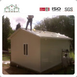 Una habitación pequeña cabaña Sandwich Modular de acero de la luz de casa prefabricada Fram casa residencial en Africa