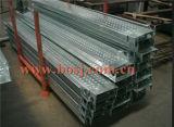 Rodillo de acero del tablón del andamio de la construcción de edificios que forma a surtidor de la máquina de la producción