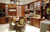 Американского проекта современный дизайн цельной древесины, кухонные шкафы