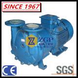 Pompe de vide de boucle liquide horizontale duplex d'acier inoxydable