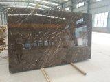 Lastre di marmo scure & mattonelle Polished di Emperador Brown per il rivestimento per pavimenti & del parete, marmo della Cina Brown (YQZ-MT1008)